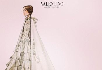 Tatiana Santo Domingo se viste de reina de las nieves