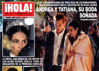 Fotografías exclusivas en ¡HOLA!: Andrea y Tatiana, su boda soñada