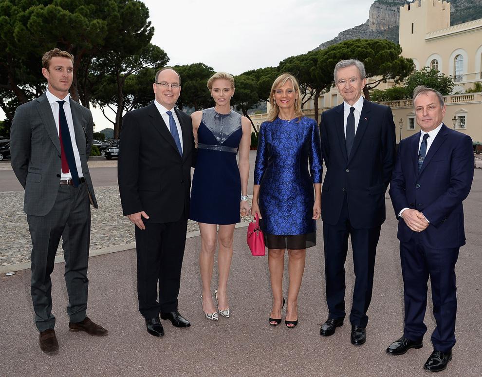 Desfile de 'glamour' Grimaldi en palacio con Pierre Casiraghi, Paulina Ducruet y Camille Gottlieb