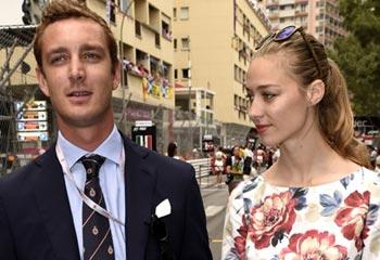 Pierre Casiraghi y Beatrice Borromeo, un amor a toda velocidad en el Gran Premio de Fórmula 1