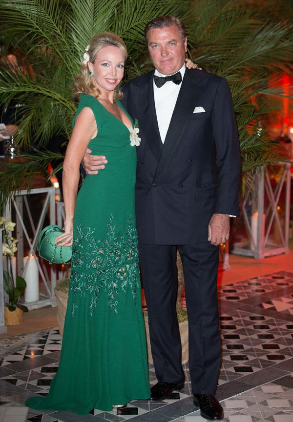Los Grimaldi se suben al podio del 'glamour' en la gala del Gran Premio de Mónaco