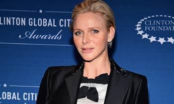 Charlene de Mónaco luce embarazo en Nueva York