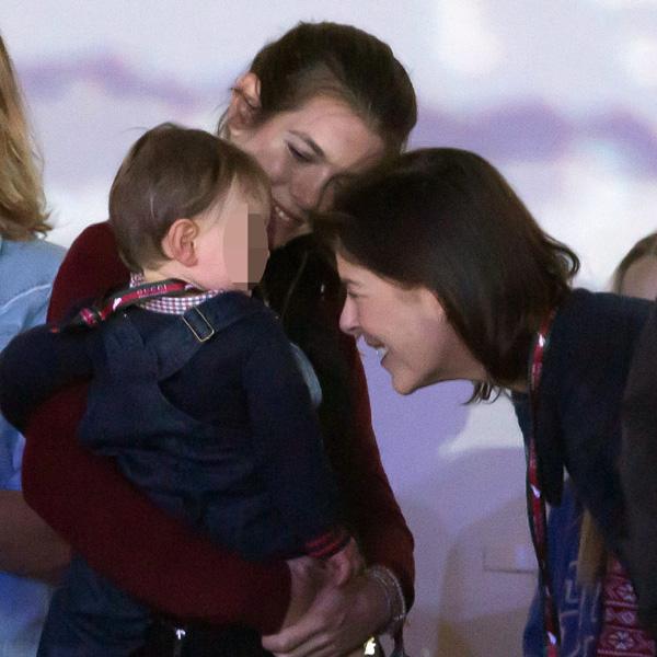Las imágenes más familiares de Carlota Casiraghi con su hijo Raphaël y Gad Elmaleh