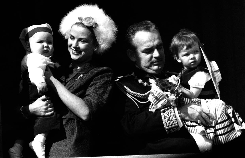 Una mirada a la idílica infancia de Alberto de Mónaco al lado de sus padres