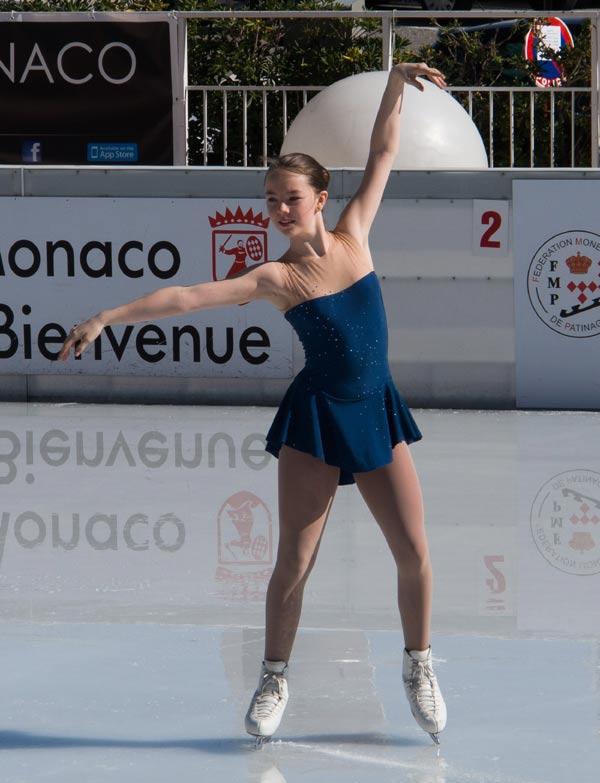 Alejandra de Hannover: 'He sentido una emoción muy fuerte al llevar la bandera de Mónaco y representar a mi país'