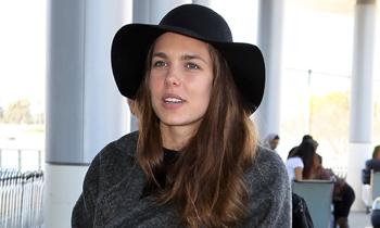 Carlota Casiraghi abandona Los Ángeles sin despejar las dudas de su supuesto embarazo