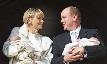 Los mellizos de Mónaco, Jacques y Gabriella, serán bautizados el 10 de mayo