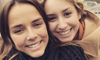 El sorprendente encuentro en Nueva York de Paulina Ducruet y Jazmín Grace Grimaldi, dos primas bien avenidas