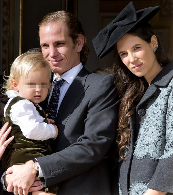 La hija de Andrea Casiraghi y Tatiana Santo Domingo se llama India