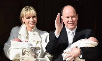 Palacio revela nuevos detalles del bautizo de los mellizos de Mónaco