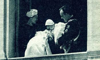 Así contó ¡HOLA! el bautizo de Alberto de Mónaco