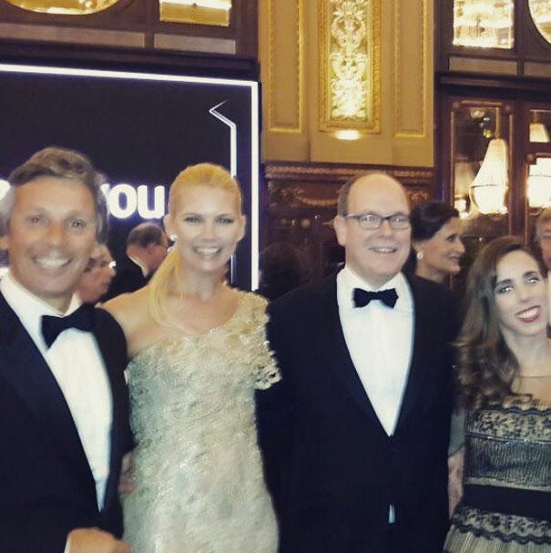 La noche de gala y el día deportivo de Alberto de Mónaco a escasas horas del bautizo de sus hijos