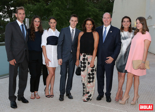 La solidaridad une a la familia Grimaldi en el décimo aniversario de Alberto de Mónaco como soberano