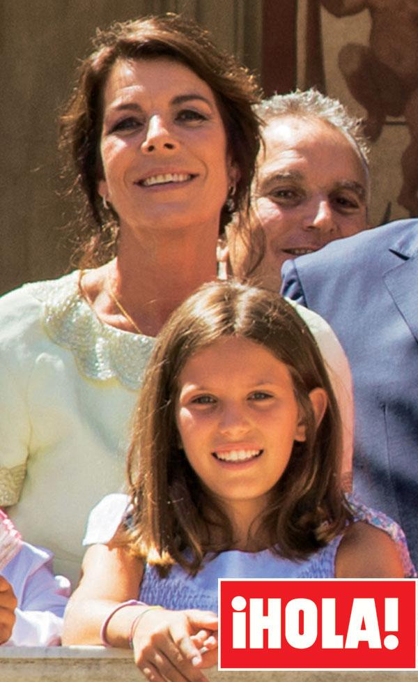 Carolina de Mónaco y la niña que se le parecía demasiado