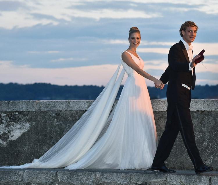 El idílico \'sí, quiero\' de Beatrice Borromeo y Pierre Casiraghi en ...