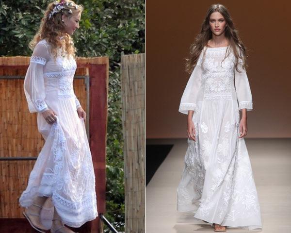 Primera fiesta de la boda italiana: Beatrice elige Alberta Ferretti y Carlota apuesta por Zara