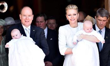 Charlene de Mónaco describe a sus mellizos: 'Jacques es el jefe y Gabriella es la real princesa'