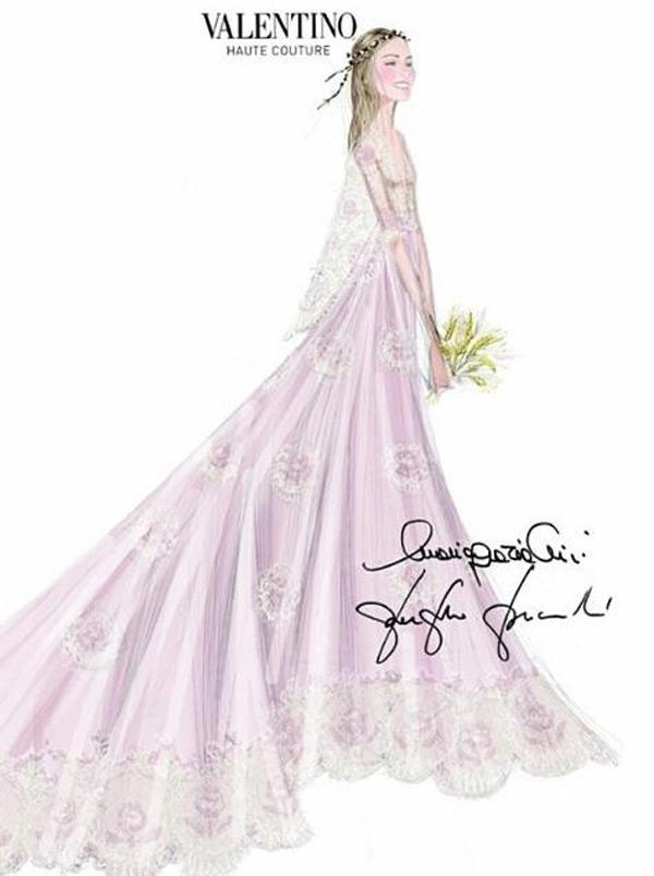 Los vestidos de novia de Beatrice Borromeo