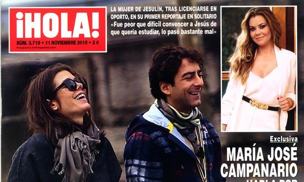 En ¡HOLA!, Carlota de Mónaco, muy sonriente y feliz junto a Lamberto Sanfelice