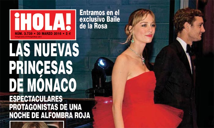 En ¡HOLA!: Las nuevas princesas de Mónaco espectaculares protagonistas de una noche de alfombra roja