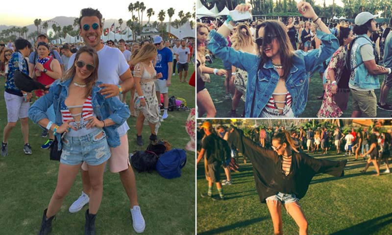 ¿Una 'it-girl' nace o se hace? Paulina Ducruet da el salto al Festival de Coachella