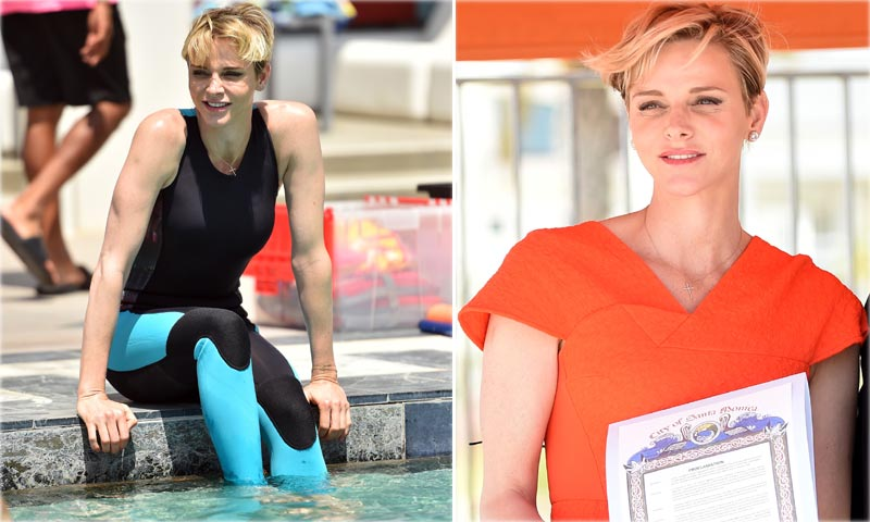 Charlene de Mónaco se zambulle de nuevo en la vida oficial por su causa favorita