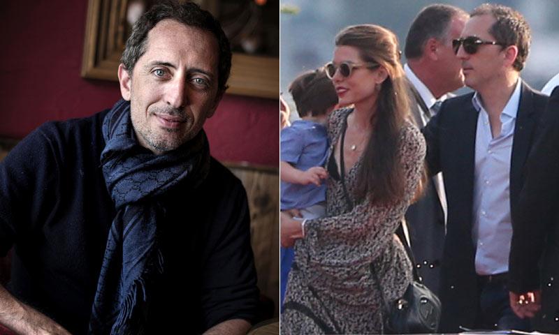 Gad Elmaleh cuenta cómo vive su relación con Carlota Casiraghi y su hijo Raphaël