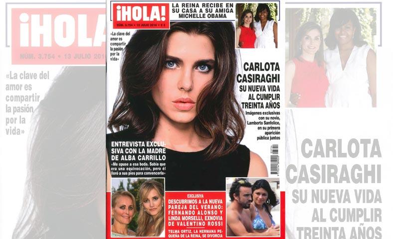Las imágenes de la primera aparición pública de Carlota Casiraghi junto a su novio Lamberto Sanfelice