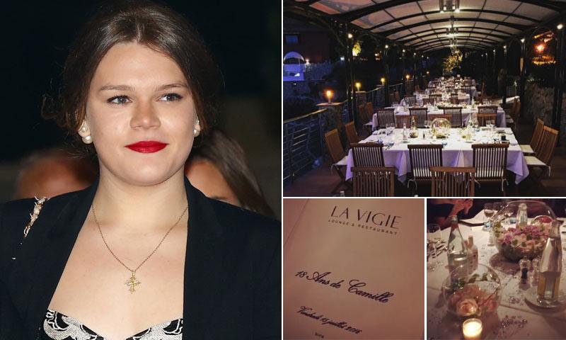 Una gran fiesta al estilo Grimaldi: así celebró Camille Gottlieb su 18 cumpleaños