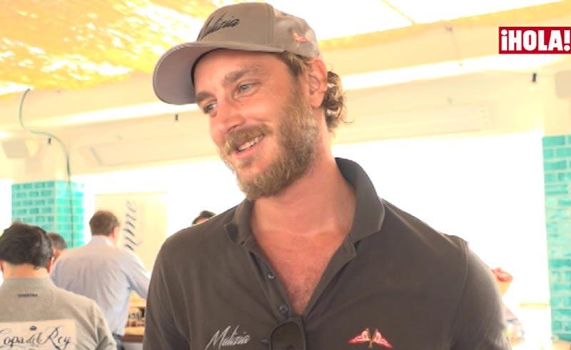 La entrevista más 'real' de Pierre Casiraghi en Mallorca