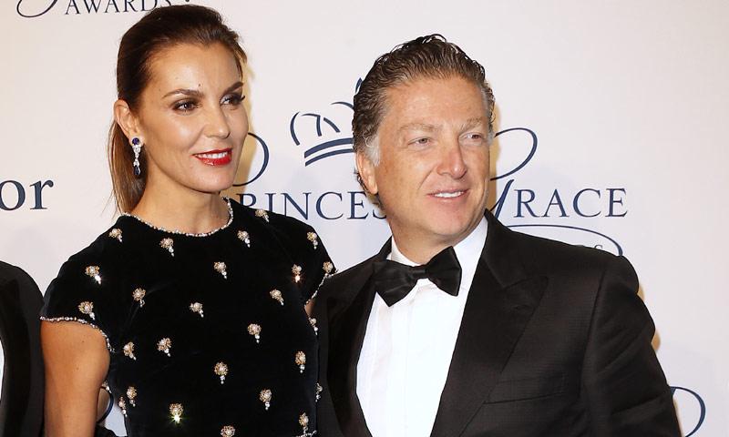 Mar Flores posa por primera vez con Elías Sacal en una gala presidida por Alberto y Charlene de Mónaco en Nueva York