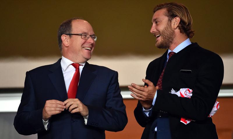 Pierre Casiraghi o la alegría de un futuro papá en el fútbol
