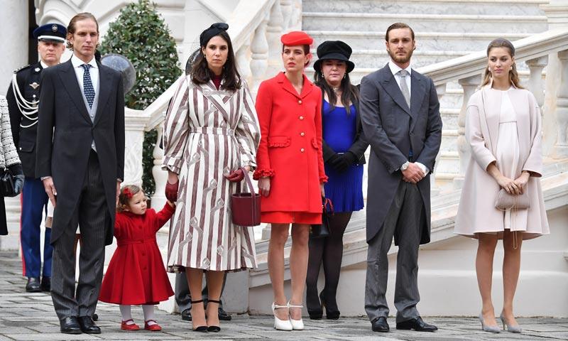 La familia Grimaldi al completo celebra el Día Nacional de Mónaco