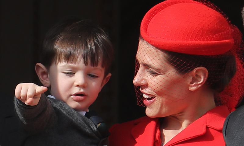 El día que Carlota Casiraghi posó con su hijo Raphäel