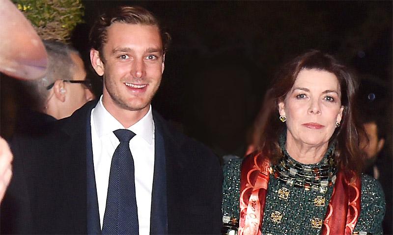La felicidad de Carolina de Mónaco tras el nacimiento de su cuarto nieto, hijo de Pierre y Beatrice