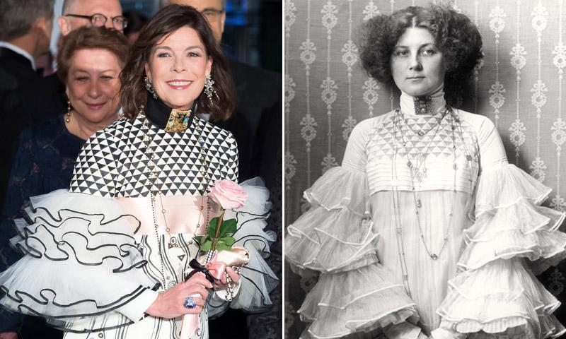 ¿Quién ha sido la inspiración del vestido de Carolina de Mónaco en el Baile de la Rosa?
