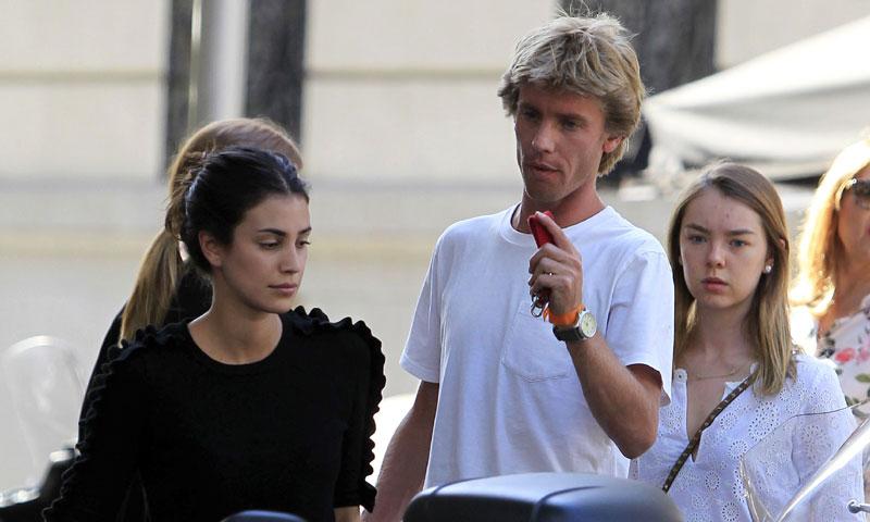 Alejandra de Hannover visita a su hermano y Sassa de Osma en Madrid