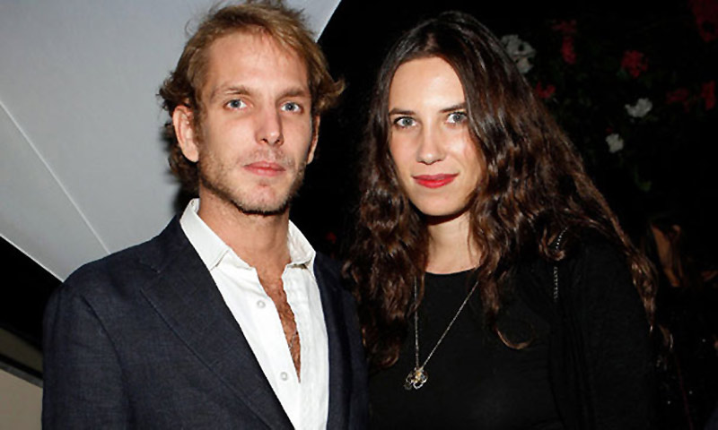El posado de Tatiana Santo Domingo con Andrea Casiraghi que ha desatado los rumores de embarazo