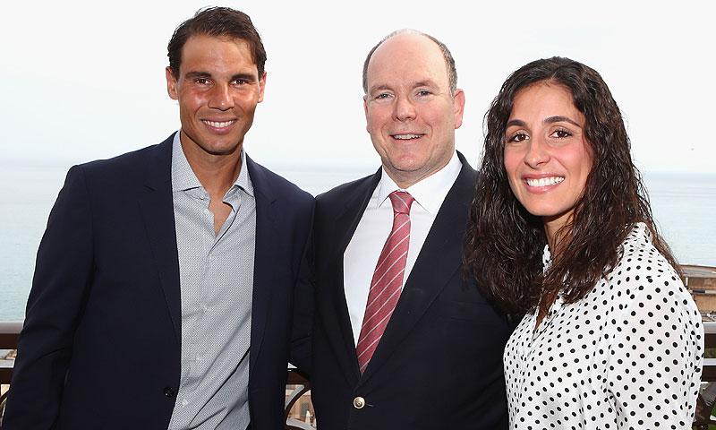 ¿Qué motivo ha hecho coincidir a Rafael Nadal y Meri Perelló con Alberto de Mónaco?