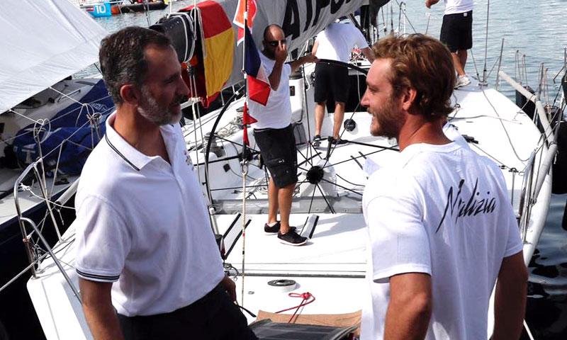 Pierre Casiraghi, gran ausente en la Copa del Rey de Vela en Palma de Mallorca