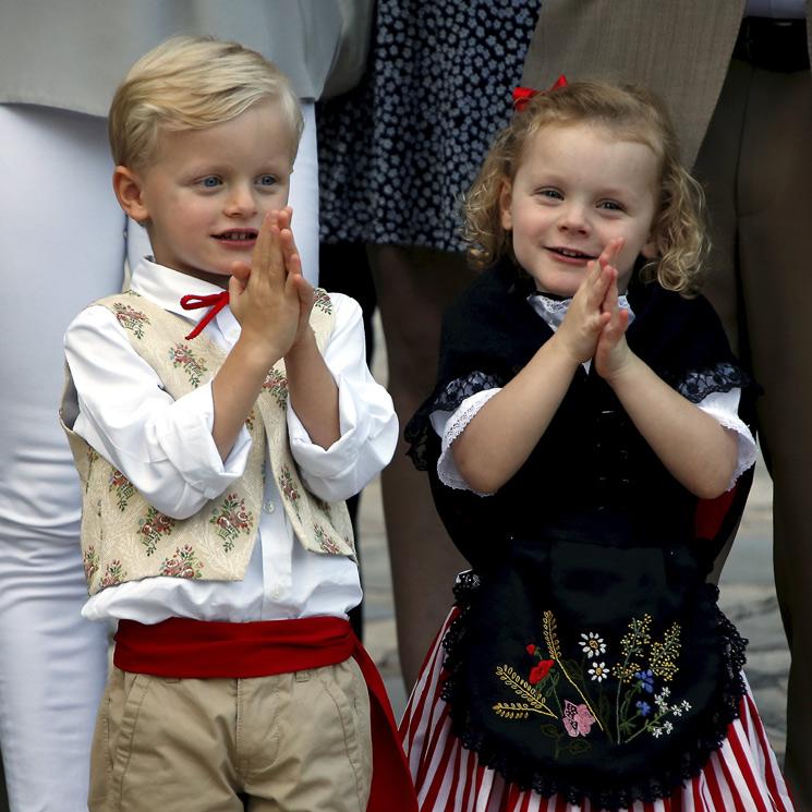 ¡Vuelta al cole! Jacques y Gabriella de Mónaco retoman la rutina con una gran sonrisa