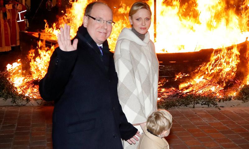 Alberto y Charlene de Mónaco cumplen con una tradición milenaria con una inesperada ausencia