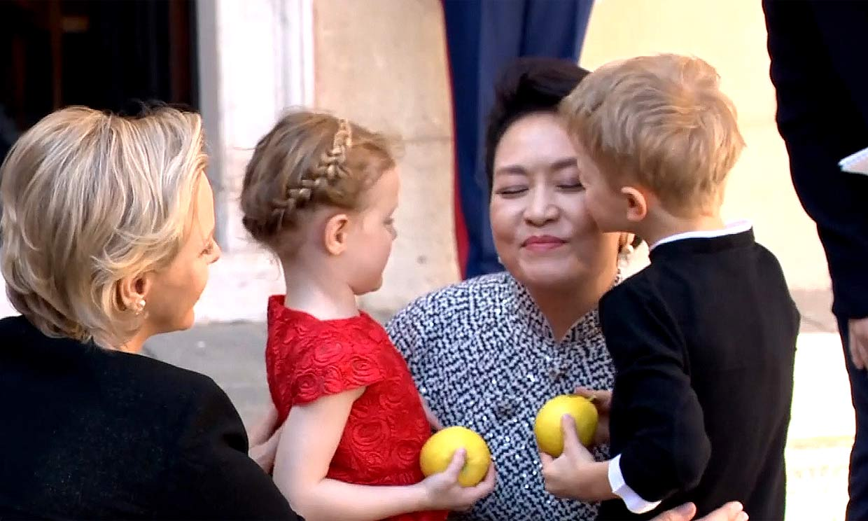 Jacques y Gabriella de Mónaco, los anfitriones más cariñosos con el presidente chino y su esposa