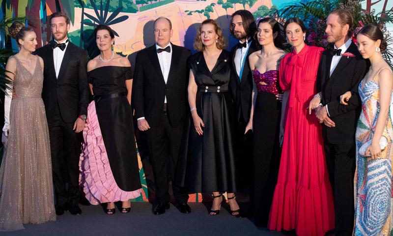 Y la gran ausente del tradicional Baile de la Rosa de Mónaco fue...
