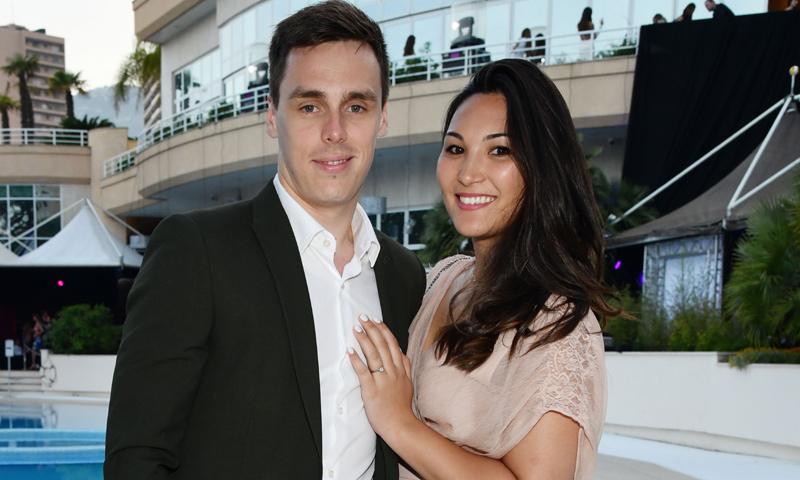 En ¡HOLA!, Louis Ducruet y Marie Chevallier ya tienen fecha de boda
