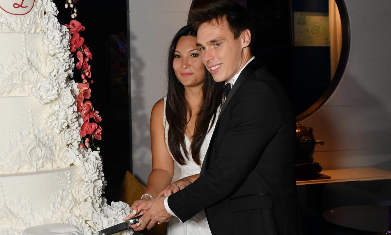 La gigantesca tarta de bodas con la que Louis y Marie dejaron boquiabiertos a sus invitados