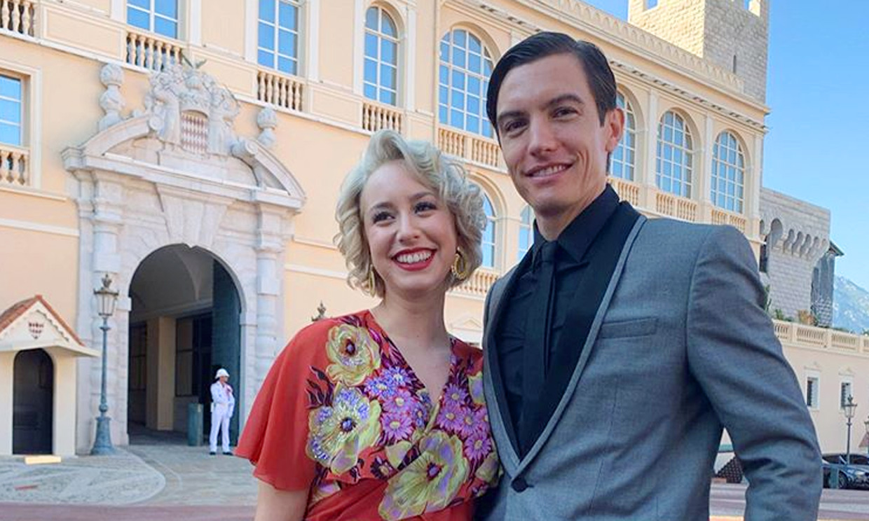 Jazmin Grimaldi: tres vestidos para la boda de su primo Louis Ducruet y un detalle desconcertante