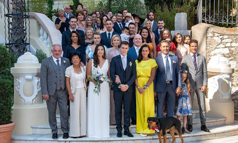 Nuevas imágenes de la boda de Louis Ducruet y Marie Chevallier, ¡con Charlene incluida!