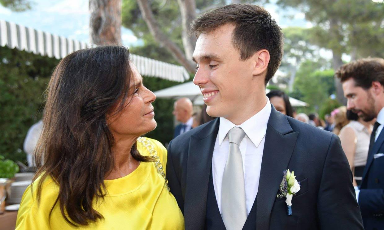 Estefanía de Mónaco desvela la sorpresa que dio a Louis Ducruet y Marie Chevallier en su boda