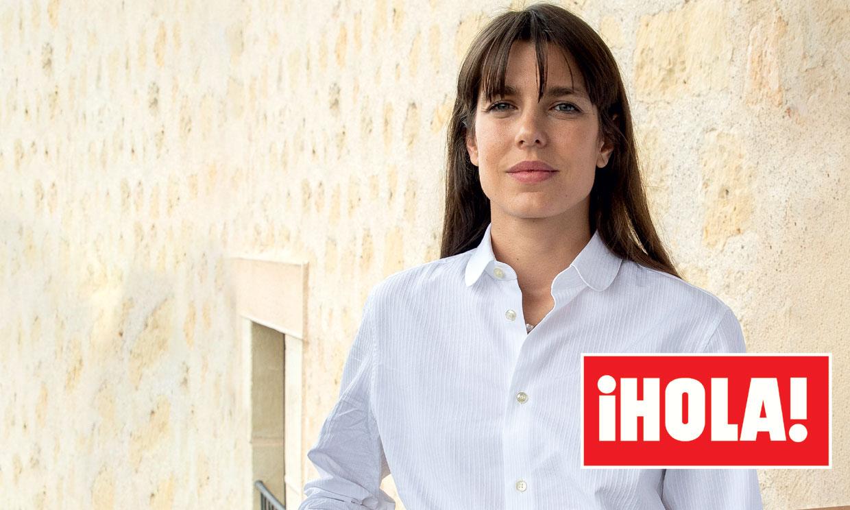 En ¡HOLA!: Los secretos de la visita de Carlota de Mónaco a Segovia